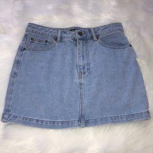 Cute & Simple Denim Skirt